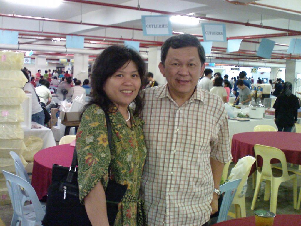 Pastor Ong and sister Nancy