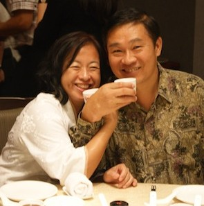 May and Take Huat, a happy and power couple!