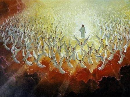 Jesus and Angels