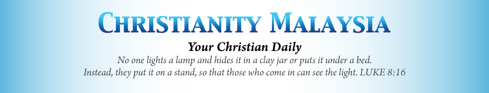 Malaysia's most comprehensive Christian news website and was launched in September 2012, incorporated with the vision of delivering up-to-date news, information, and commentaries relevant to Christians across denominational lines