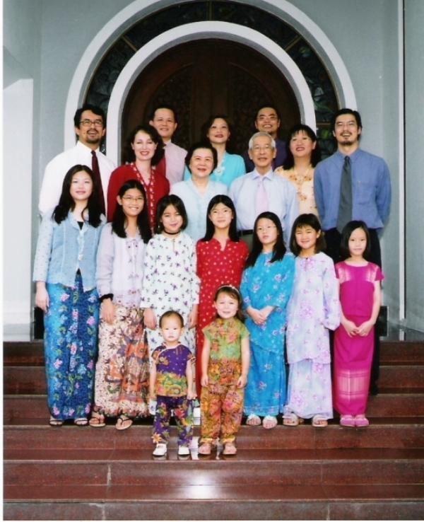 The Koh's Family in 2004