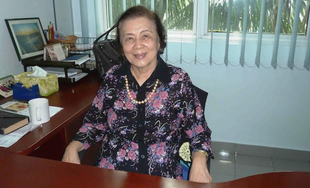 Mrs Koh Poh Kim, wife of late founder of FGA KL (Elder Koh)