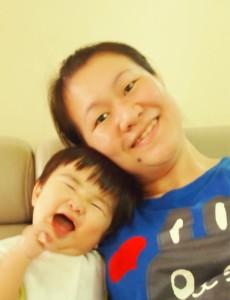 燕萍与她的儿子,Kingsley