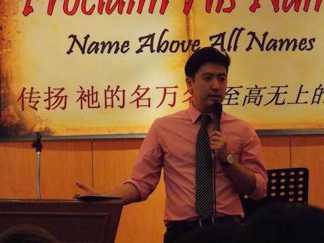 Tim Lee 牧师