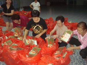 Food Packing by Volunteers