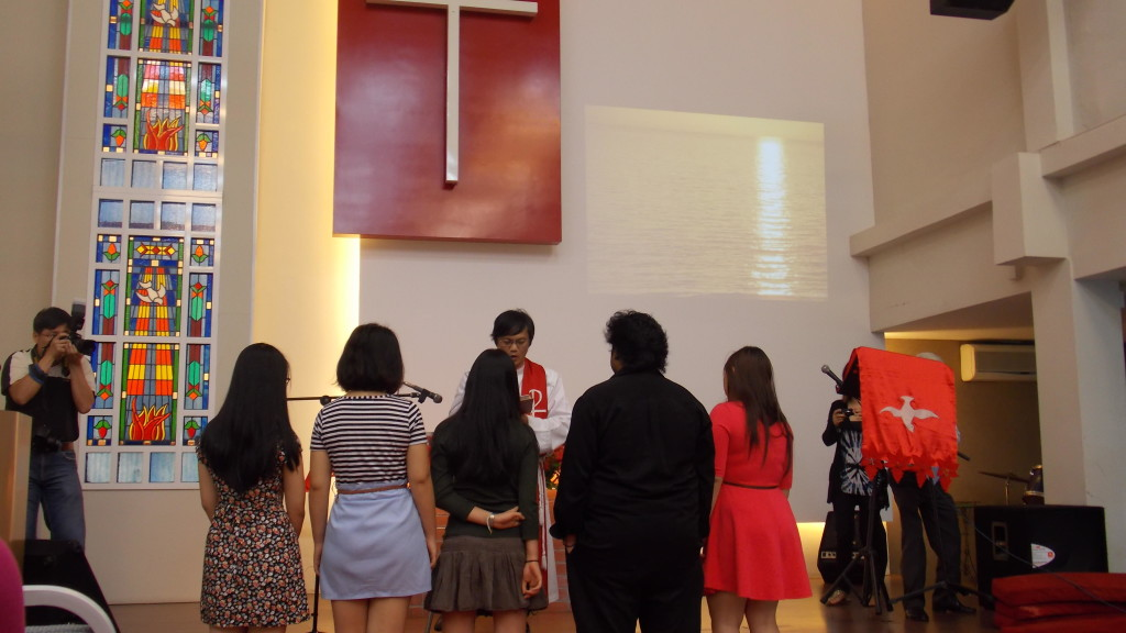 The installation of the Youth Committee