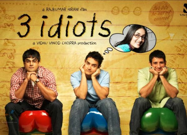 Wallpaper of the movie 3 Idiots