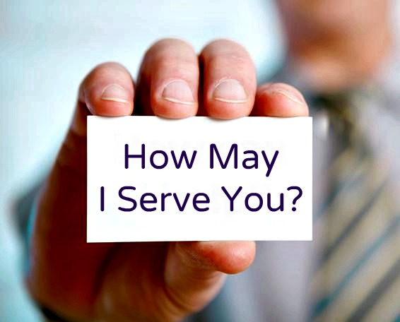 How May I Serve You