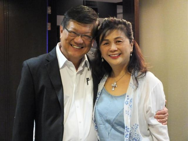 Pastor Peter Sze and wife See Fen