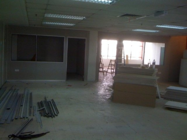 Renovation in Atria Shopping Center, at a former bookstore