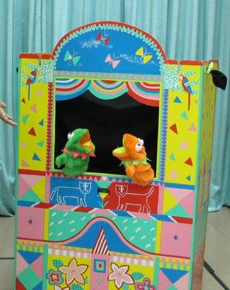 BP pics Puppet talk