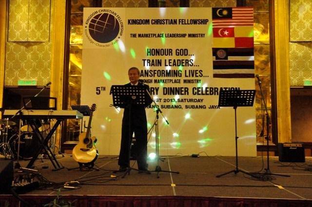 KCF President Pr Yap Kok Sun