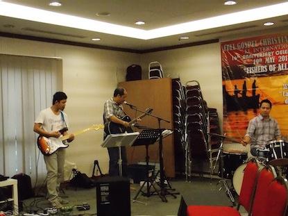 Worship band of FGCC