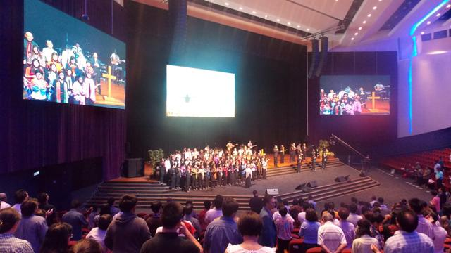 Congregation in CCC