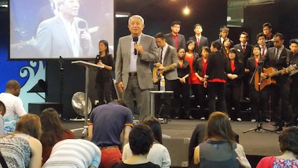Many came personally to the alter and sat in solemn prayer before God