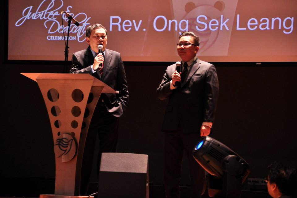 Rev Ong Sek Leang, current General Superintendent of AOG in Malaysia