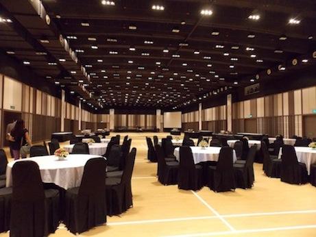 1000-seating multipurpose hall
