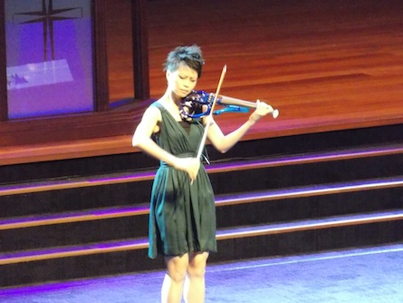 Joanne Yeoh, acclaimed violinist in Malaysia
