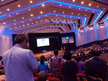 Pastors rising to be prayed for by Dr Mark Rutland