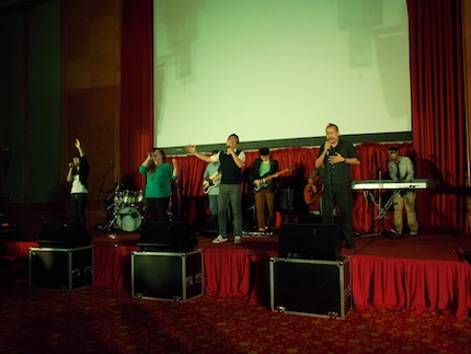Worship team of Eaglepoint