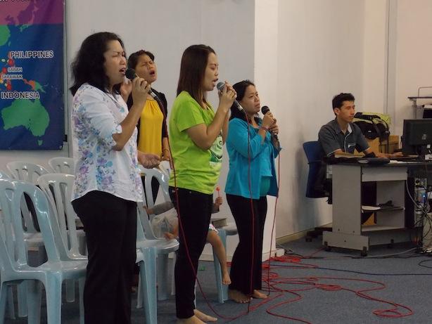 Nyanyian dituju kepada Tuhan