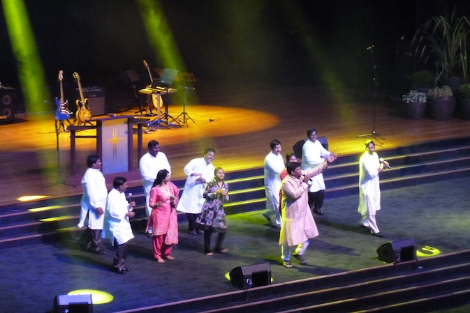 Performance before the sermon