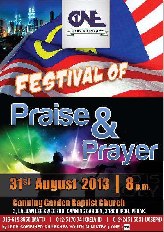 Worship and prayer poster