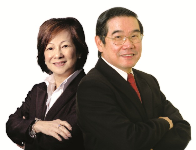 Pastors Dr Chew Weng Chee and Lee Choo