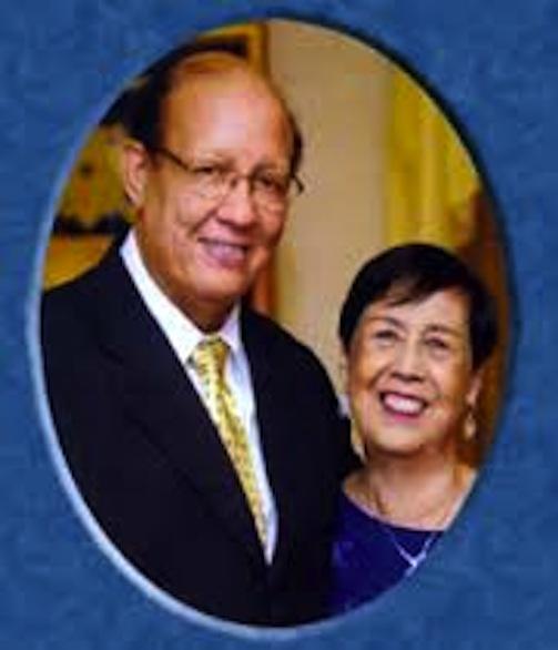 Rev Dr Vernon Falls and Rev Dr Margareth Falls