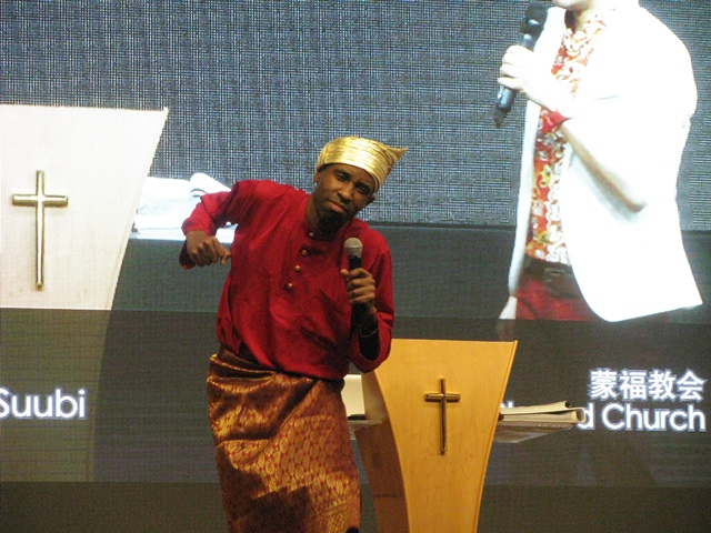Ps Julius Suubi from Highway of Holiness Ministries International