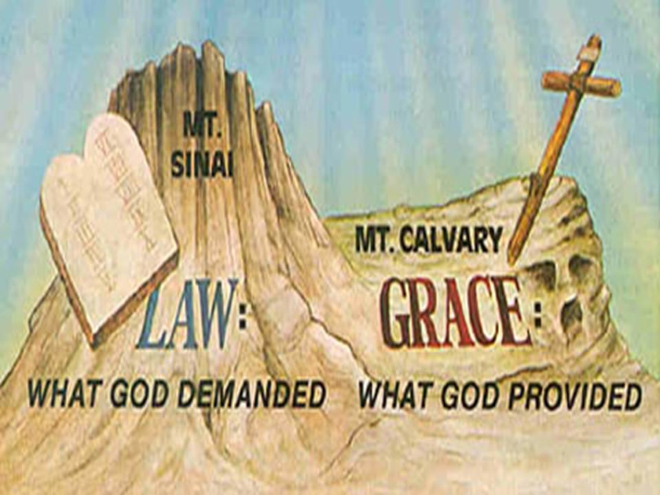 Image result for Grace vs Law scripture images