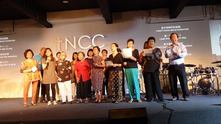 Choir by the Chinese Church