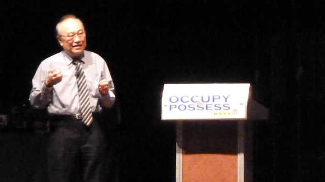 Datuk Paul Low sharing his heart for the country