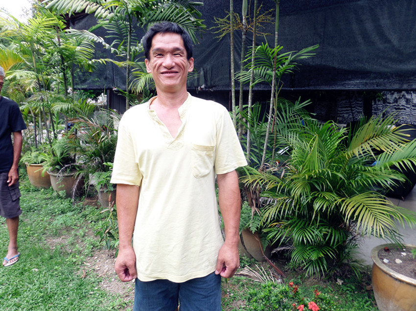 Yap, a resident of the Crisis Home, put his trust in the Lord