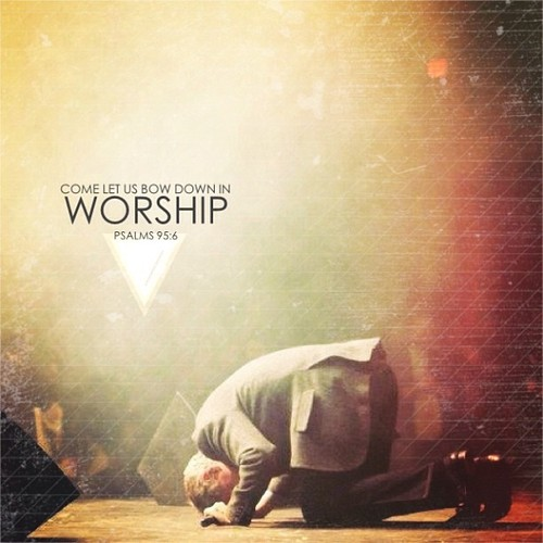 Those who worship the Lord in the splendour of His holy name