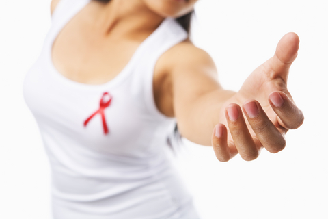 vrouw-aids