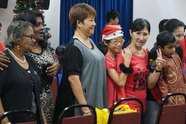 Attendees for CARE Christmas party