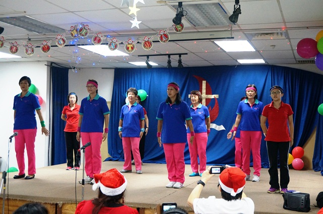Praise dance performance by Sungei Way Christian Church