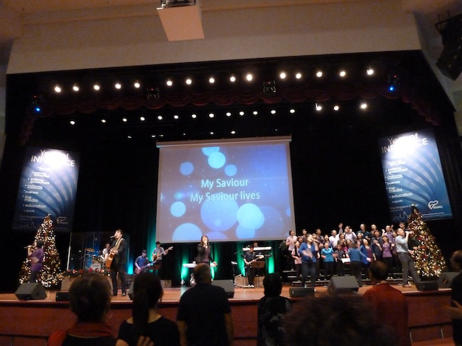 Worship team of DUMC