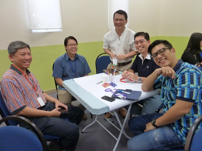 Happy participants for the Workplace Session in DUMC