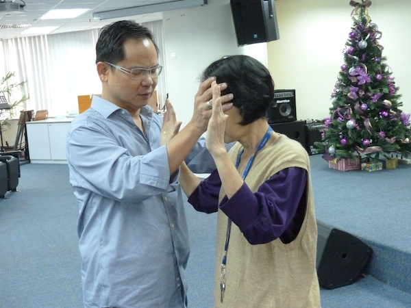 Eddy Yong at a Full Gospel Businessmen in TA One Chapter