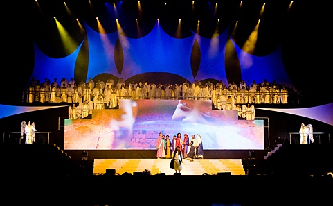 Another Easter production by Calvary Church in 2009 at Putra Stadium