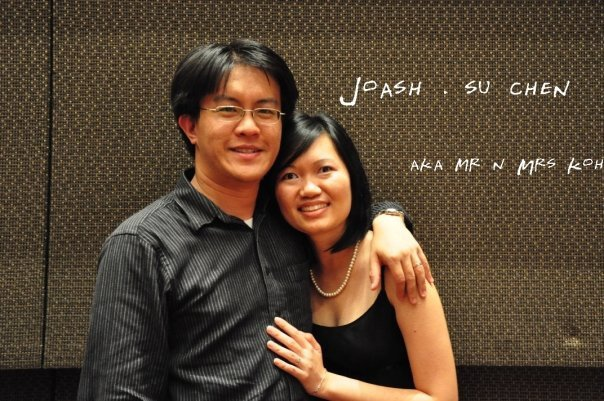 Su Chen (right) and her husband Joash Koh who is her greatest believer and supporter that brings out the best in her