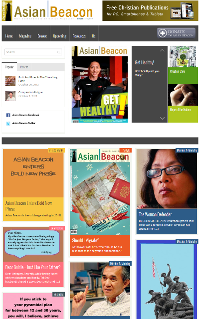 Asian Beacon website