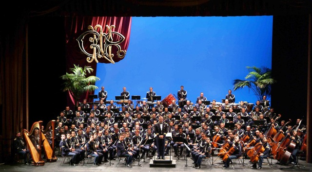 One of the orchestra symphonies that Brito was involved in Portugal
