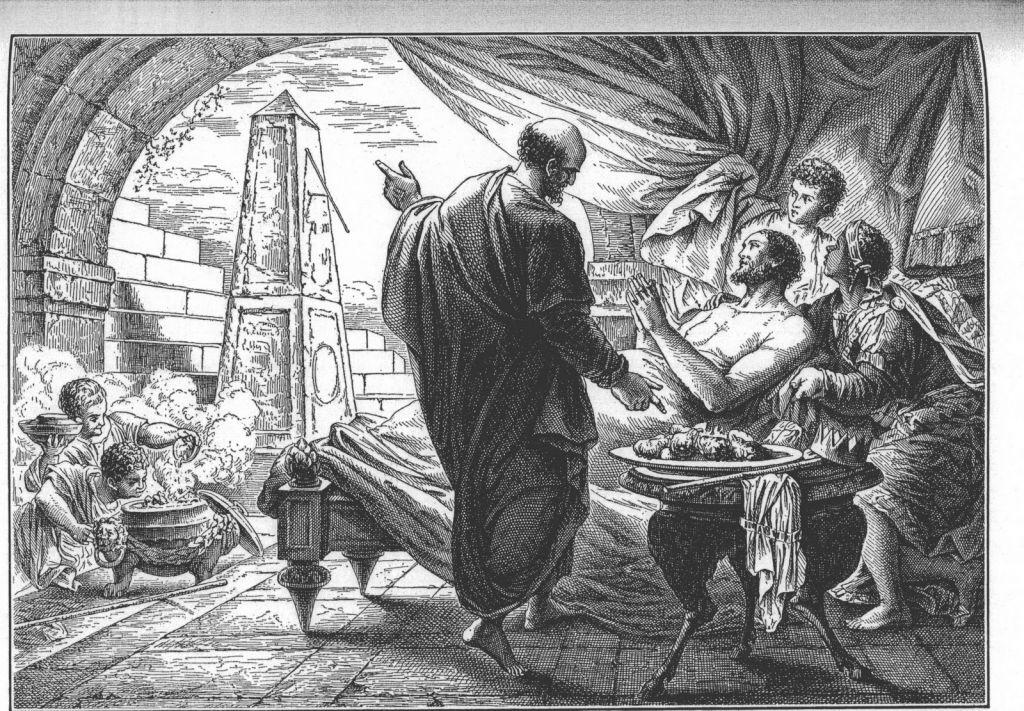 Isaiah 38 hezekiahs illness