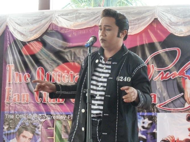 Eric Alvarez singing Jailhouse Rock