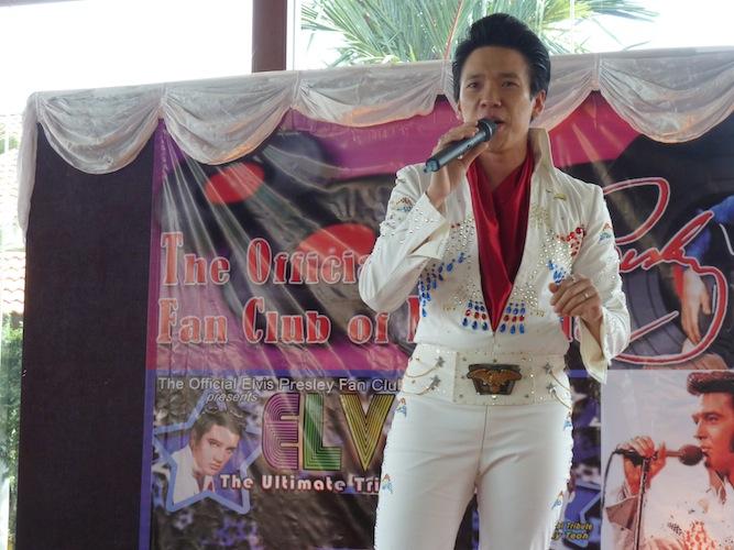 Alex Wong singing Gospel songs