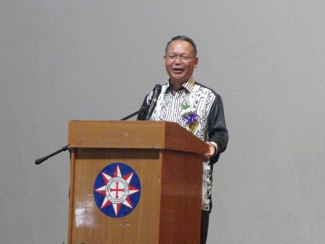 The Most Reverend Datuk Bolly Lapok