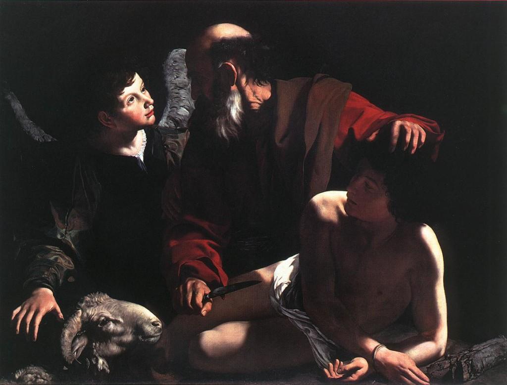 Caravaggio_Sacrifice_of_Isaac_I